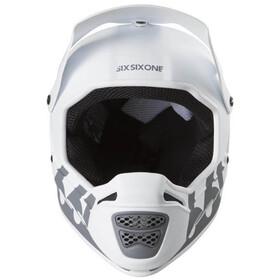 SixSixOne Reset Fullface Helm tundra white